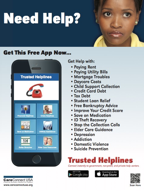 Trusted Helplines App